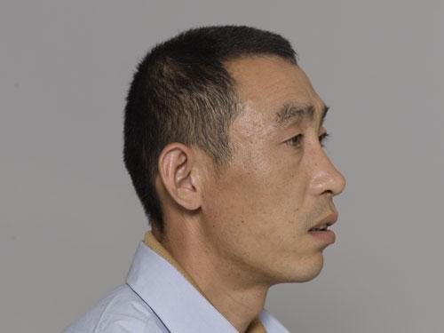 Retrato de um dos participantes, 31–50 anos, Pequim