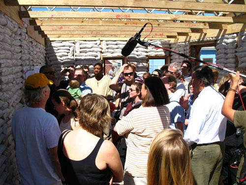Visita de Jornalistas e Convidados Indaba, 29 de Fevereiro. Foto: Deborah Weber